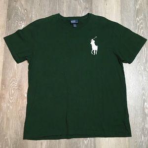 Polo Ralph Lauren big pony logo green t shirt